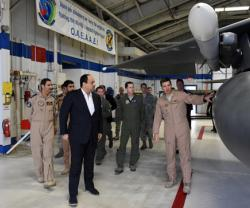 Qatar's Minister of Defense Witnesses F-15E Superiority