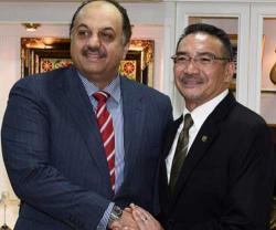Qatar's Defense Minister Meets Malaysian Counterpart
