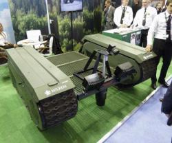 Raytheon UK, Milrem UGV-Based IED Detection System at Eurosatory