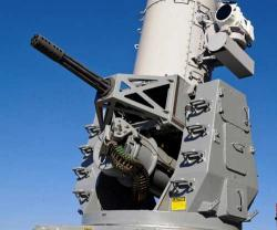 Raytheon Tests New Electric Gun for Phalanx® Weapon System
