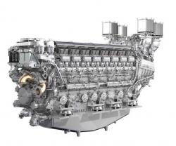 Rolls-Royce Presents New 16-Cylinder Engine at Euronaval