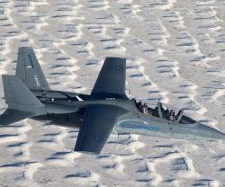 Textron's Scorpion Jet Completes First Weapons Exercise