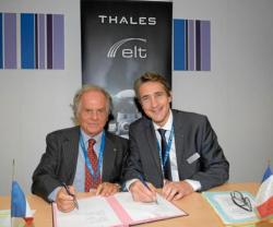 Thales, Elettronica Expand Cooperation in Electronic Warfare