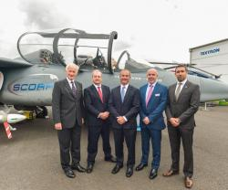 Thales, QinetiQ Select Textron Scorpion Jet for ASDOT Bid