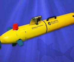 General Dynamics Unveils Autonomous Underwater Vehicle