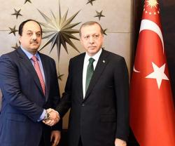 Qatar's Minister of State for Defense Affairs Visits Turkey