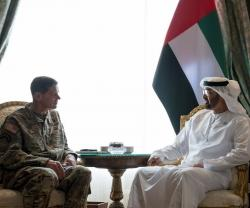Abu Dhabi Crown Prince Meets Commander, U.S. Central Command