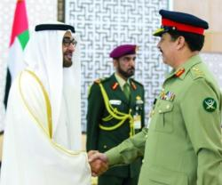 Commander of Islamic Military Counter Terrorism Coalition Visits UAE