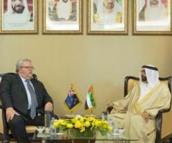New Zealand Defense Minister Visits UAE