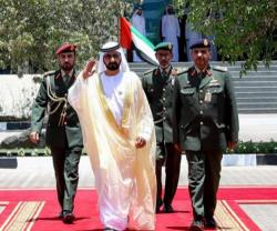 UAE VP Attends Joint Command & Staff College Graduation
