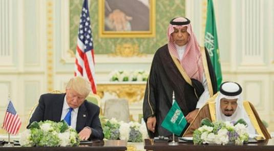 Saudi Arabia, US Sign Historic $110 Billion Defense Deal