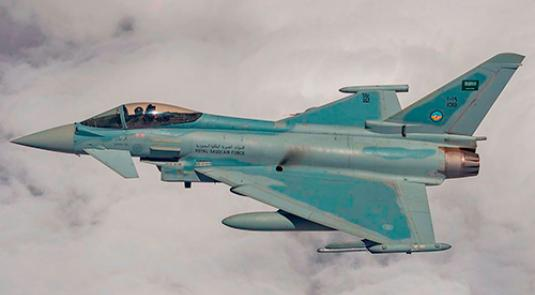 Saudi Arabia Orders 48 Additional Typhoon Fighter Jets