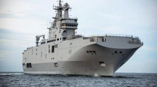 Egypt Receives Mistral Carrier Anwar El-Sadat