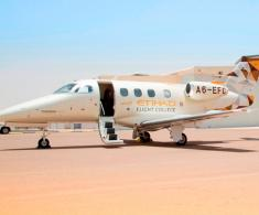 Etihad Flight College Receives First Embraer Phenom 100E Aircraft