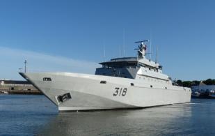PIRIOU Completes Refit of Morocco's Rais Bargach Patrol Vessel