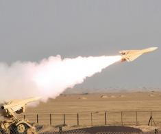Royal Bahrain Air Force Tests Fires Hawk Missiles