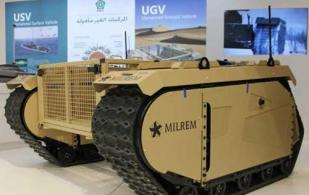 IGG, Milrem to Co-Develop and Arm a Military UGV