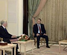 Iraqi President Receives British Defense Secretary