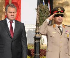 Egyptian President, Russian Defense Minister Discuss Regional Security