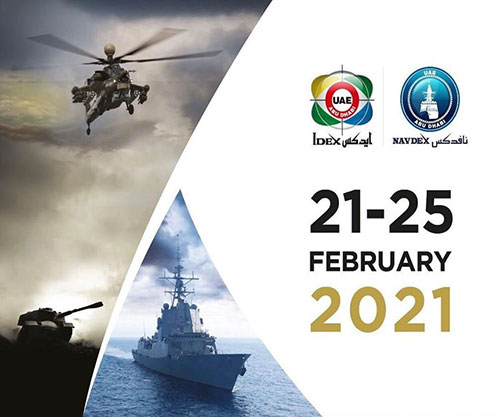 The fourth day (24 February) of the International Defence Exhibition (IDEX) and the Naval Defence Exhibition (NAVDEX) 2021 has seen the UAE Armed Forces sign 24 new deals, worth AED 2.140 billion (US$ 586 million), with local and international companies.
