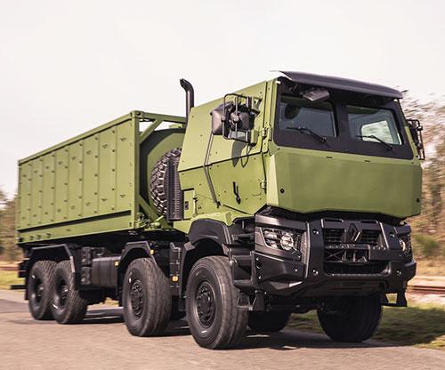 ARQUUS Presents its New Logistics 8x8 Truck