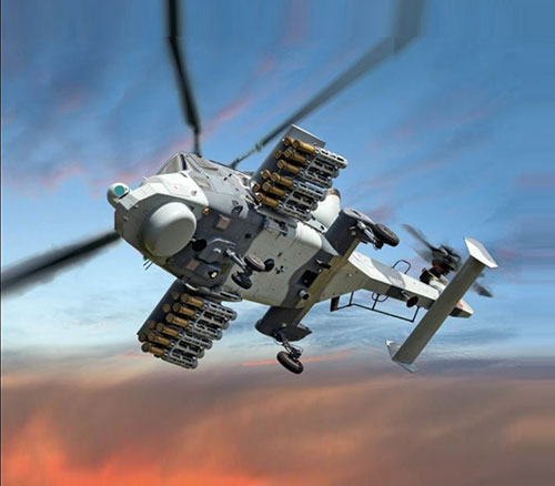 AW159 Wildcat Helicopter Conducts First Firings of Martlet Lightweight Multirole Missile