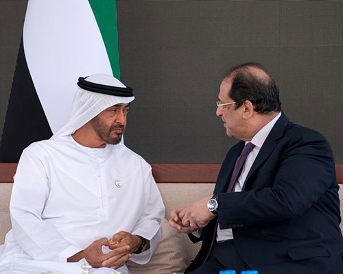 Abu Dhabi Crown Prince Receives Egyptian Intelligence Chief
