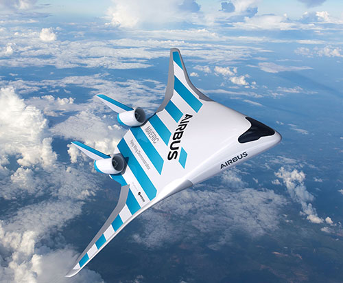 Airbus Reveals its Blended Wing Aircraft Demonstrator