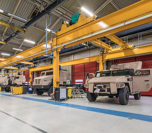 Arquus Rolls Out 1,000th Sherpa Armored Vehicle