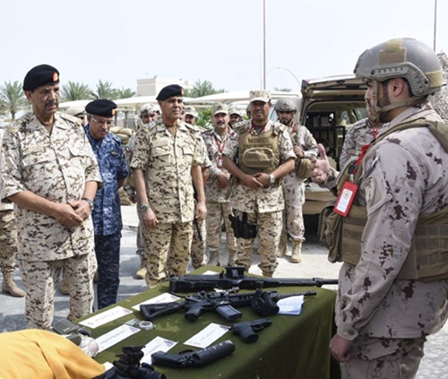 Bahrain's Commander-in-Chief Attends Hamad Shield 1 Drill