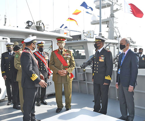 Bahrain's Commander-in-Chief Inaugurates New Warships