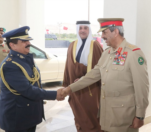Bahrain's King Attends Bahrain International Airshow