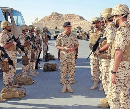 """Bahrain Defense Force Participates in """"Gulf Shield 1"""" Drill"""