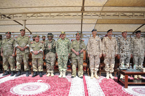 Bahrain, Kuwait National Guards Conclude Anti-Terror Drill