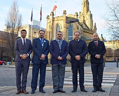 Bahrain MoI Delegation Visits University of Huddersfield