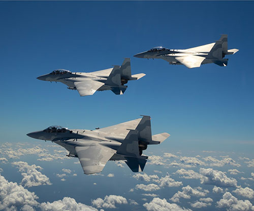 Boeing Unveils F-15 Qatar Advanced Jets