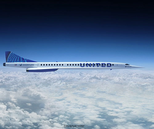 Boom, United Ink World's First Purchase Agreement for Supersonic Aircraft