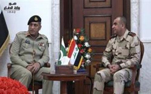 Chairman of Pakistan Ordnance Factories (POF) Visits Iraq
