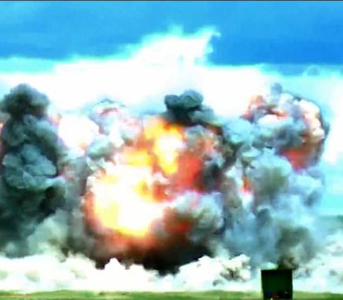 China Launches Own 'Mother Of All Bombs' After US
