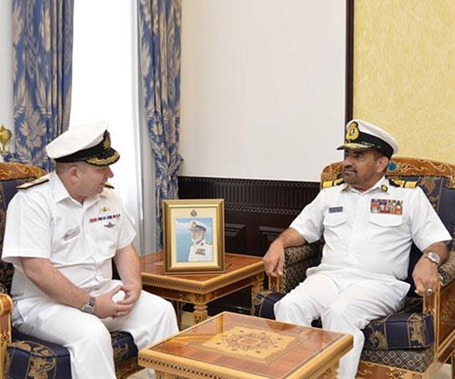 Combined Task Force 150 Commander Visits Oman