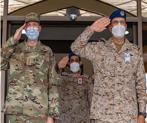 Commander of Royal Saudi Air Forces Receives U.S. Air Forces Central Command Commander