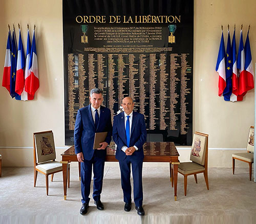Dassault Aviation Becomes Patron of the Order of Liberation