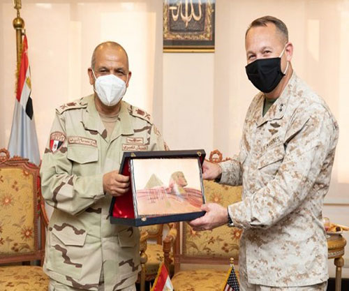 Egypt Receives US Central Command's Director for Strategy, Plans & Policy