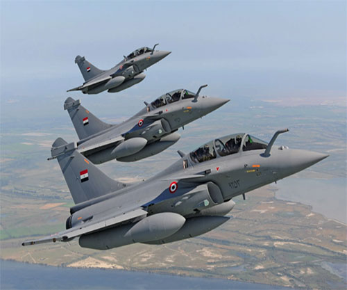 Egyptian, French Air Forces Conduct Joint Exercises