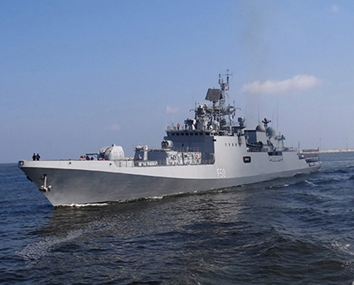 Egyptian-Indian Naval Forces Conduct Maritime Training