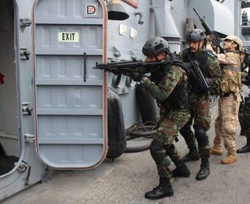Egyptian-Kuwaiti Joint Drills Conduct Naval Exercises