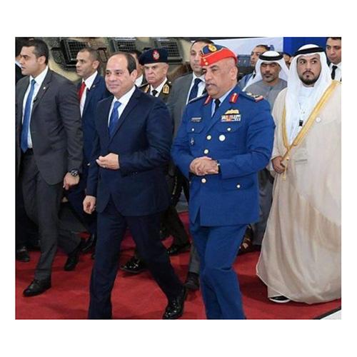 Egyptian President Inaugurates EDEX 2018