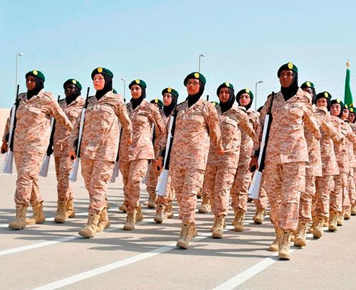 Emirati Military School Celebrates Graduation of 134 Arab Women