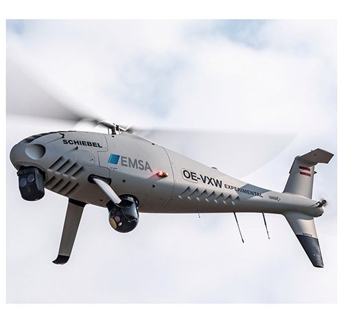 European Maritime Safety Agency Selects CAMCOPTER® S-100 UAS