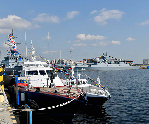 Export Projects of Russia's Naval Industries at IMDS-2021